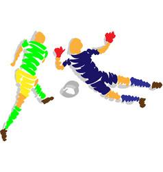 20-6-2014 fotbal penalta vector