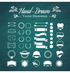 Hand-draw vector