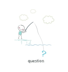 Questions vector image