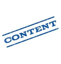 Content watermark stamp vector