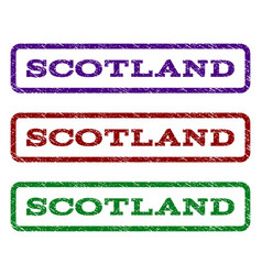 Scotland watermark stamp vector