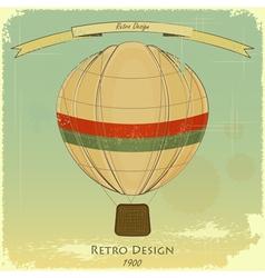 Vintage Balloon vector image vector image