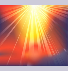 Heavenly light background vector