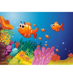 Underwater World vector image