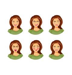 Collection of emotions 2 vector