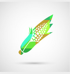 Corn isolated vector