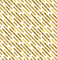 Flat Background with Golden Diagonal Lines vector image