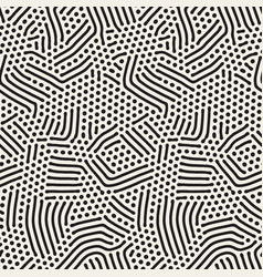 organic irregular rounded lines seamless vector image vector image
