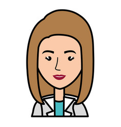 professional woman of health vector image