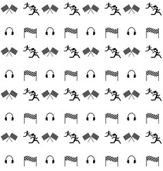 Seamless ikonki sport vector