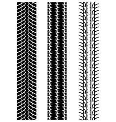 Tyre treads 2 vector