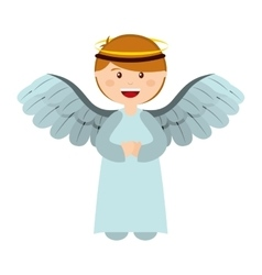 Manger character cartoon isolated icon vector