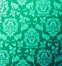 Leafy pattern vector