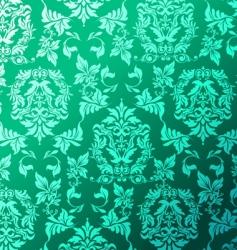 Leafy pattern vector