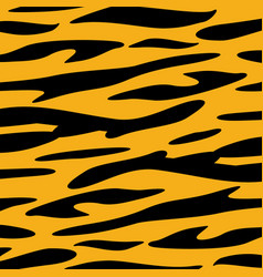 Tiger skin animal texture wallpaper vector