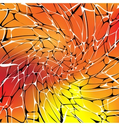 abstract hot background vector image vector image