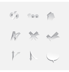 Info Graphic Icons and Elements vector image