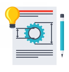Product Requirements Document vector image
