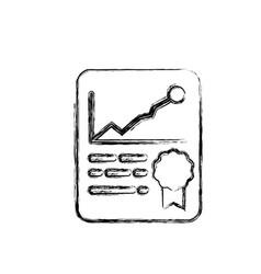 financial report document vector image
