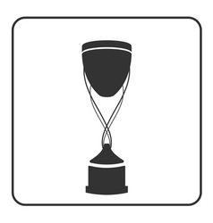 Trophy cup icon 15a vector