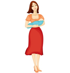 mama vector image