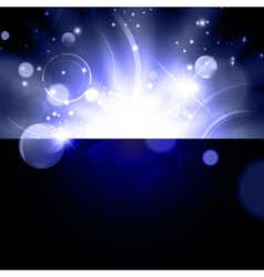 abstract galaxy background vector image vector image