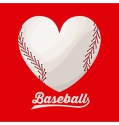 Baseball league design vector
