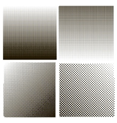 Dots on White Background Halftone Texture vector image vector image