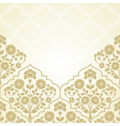 Floral pattern for invitation ard vector image vector image