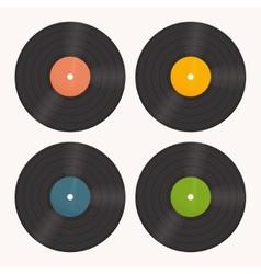 Set Vinyl vector image