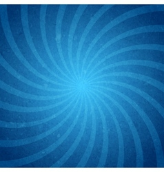 Starburst spiral background vector image