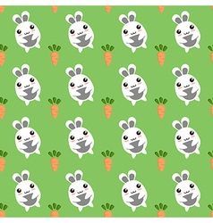 Bunny seamless background vector image