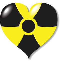 Atomic -nuclear- heart danger vector