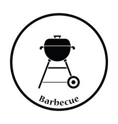 Barbecue icon vector image vector image