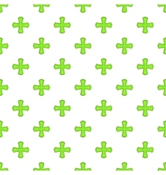 Sign of columbus pattern cartoon style vector