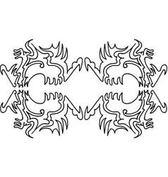Wallpaper pattern 4-2 vector