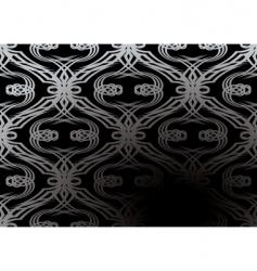 silver tangle wallpaper vector image