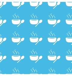 Hot soup straight pattern vector