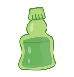 bottle isolated vector image
