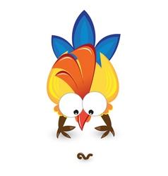 Cartoon cock vector