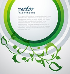 plant leaf background vector image