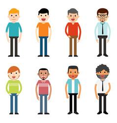 People characters men vector