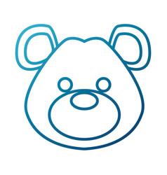 Cute teddy bear vector