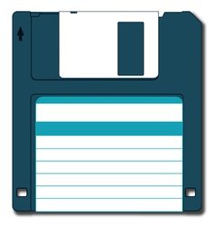 Diskette vector image vector image