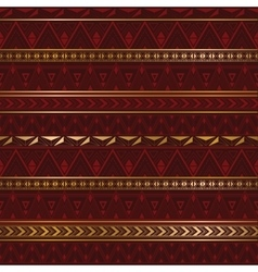 Ethnic texture in burgundy color vector