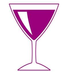 Wineglass vector