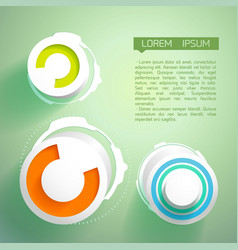 abstract futuristic design concept vector image