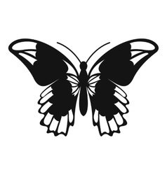 Admiral butterfly icon simple style vector