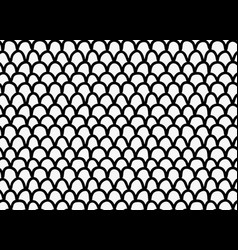 Black marker drawn simple dragon skin vector