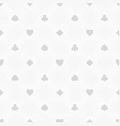Casino seamless pattern vector